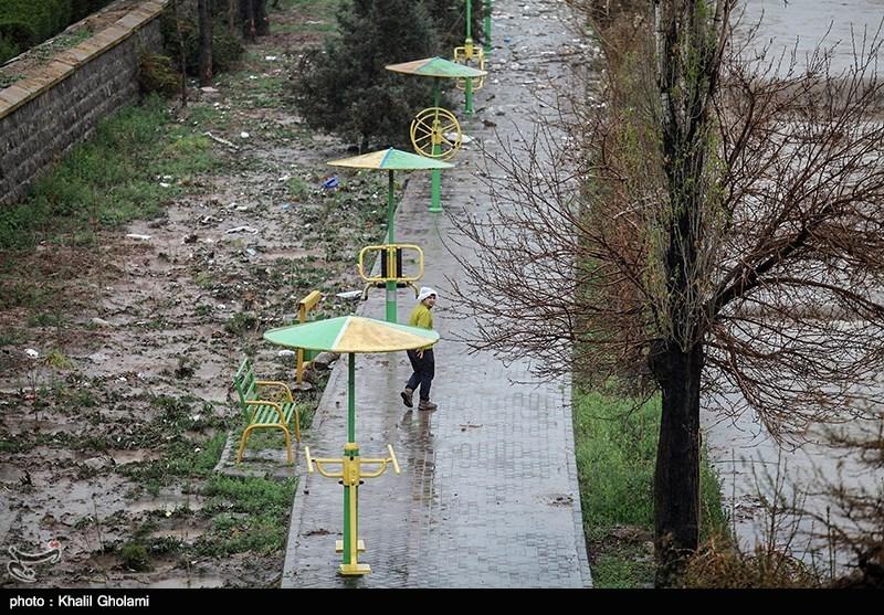 آخرین وضعیت هوا وبارش باران درکشور