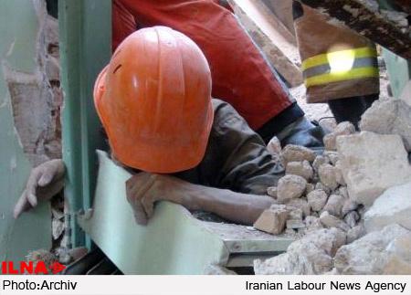 5۰ درصد از حوادث کار در کارگاههای ساختمانی اتفاق میافتد/تعداد بازرسان پاسخگوی روند بازرسی نیست