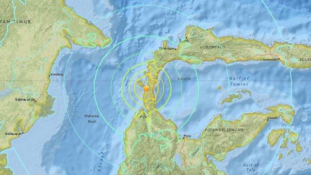 زلزله شدیدِ اندونزی خسارت بهجا گذاشت
