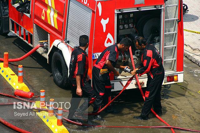 ترخیص تجهیزات آتشنشانی از گمرک