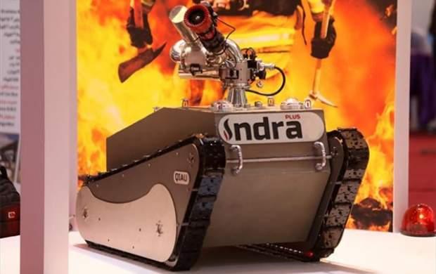 روبات آتشنشان با توانایی اطفای حریق بالاساخته شد